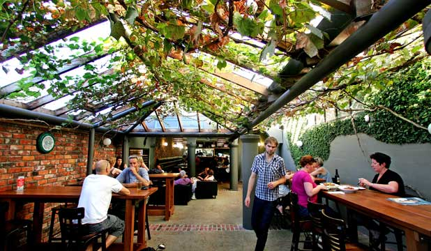 Top 5 best beer gardens